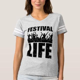 VIDA nova do FESTIVAL (preto) Camiseta