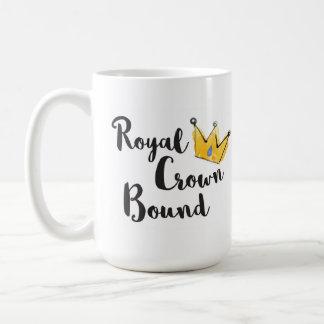 Vida nova encadernada da caneca   da coroa real