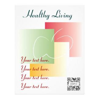 Vida saudável do modelo do insecto panfletos personalizado
