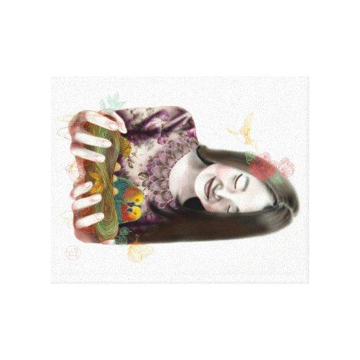Vidas novas impressão em tela canvas