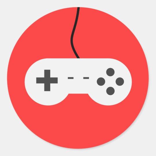 Video Game Controller Icon Adesivo