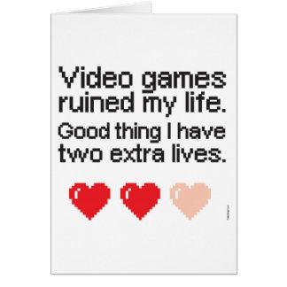 Vídeo Games ruined my postal de natal life