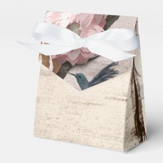 Vidoeiro branco rústico floral & partido do caixinha de lembrancinhas