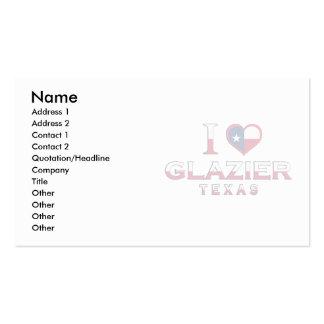 Vidraceiro, Texas Cartao De Visita