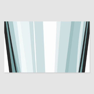 Vidro claro adesivo retangular