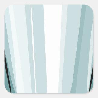 Vidro claro adesivo quadrado