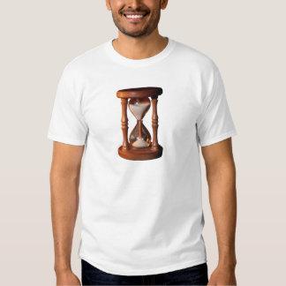 Vidro de hora ampulheta ampulheta hourglass tshirts
