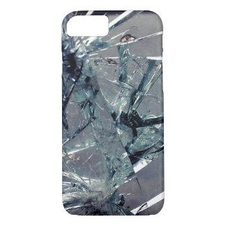 Vidro quebrado capa iPhone 7
