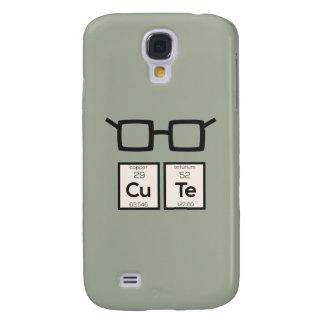 Vidros bonitos Zwp34 do nerd do elemento químico Capas Personalizadas Samsung Galaxy S4