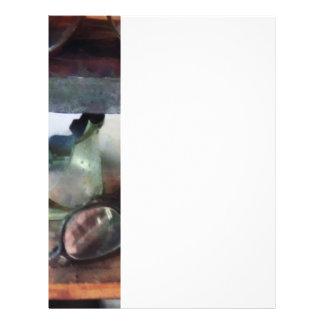 Vidros de segurança panfletos personalizados
