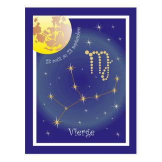 Vierge 23 août au 23 cartão postal septembre