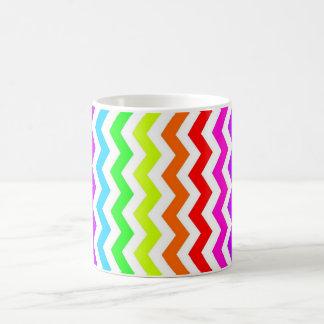 Viga do arco-íris caneca de café