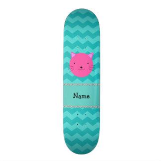 Vigas cor-de-rosa conhecidas personalizadas de tur shape de skate 18,1cm