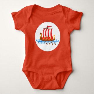 Viking pequeno body para bebê