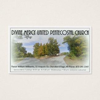 Vila cherokee AR da igreja divina do compaixão Cartão De Visitas