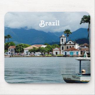 Vila de Brasil Mouse Pad