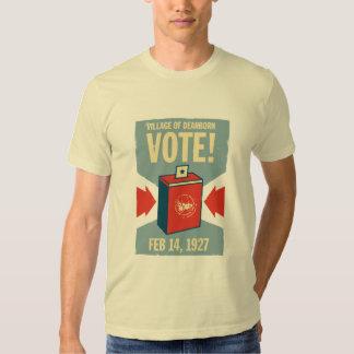 Vila do T do prêmio dos homens do voto de Dearborn Camiseta