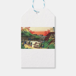Vila japonesa etiqueta para presente