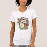 Vinca, mistura brilhante, loja da semente de Rouda T-shirt