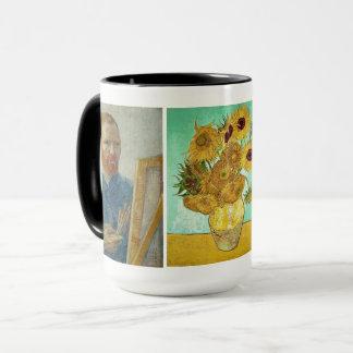 Vincent van Gogh - Auto-Retrato & caneca dos
