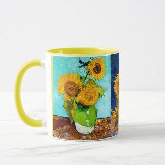 Vincent van Gogh - caneca dos girassóis