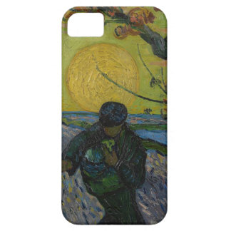 """Vincent van Gogh - """"caso do telefone do Sower"""" Capa Barely There Para iPhone 5"""