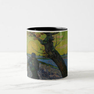 "Vincent van Gogh - ""pintura do Sower"". Caneca da"