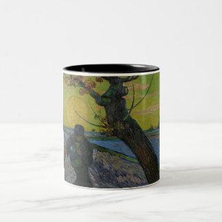 """Vincent van Gogh - """"pintura do Sower"""". Caneca da"""