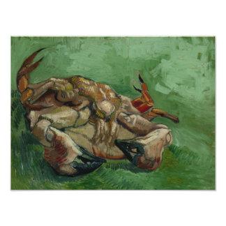Vincent van Gogh - um caranguejo em sua parte Foto