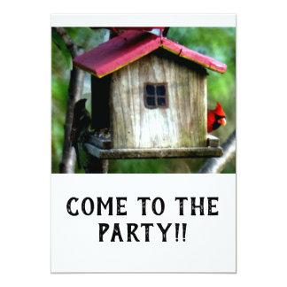 Vindo ao convite de festas