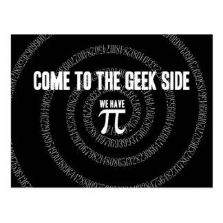 Vindo ao lado do geek para o Pi Cartão Postal