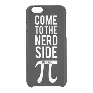 Vindo ao lado do nerd capa para iPhone 6/6S transparente