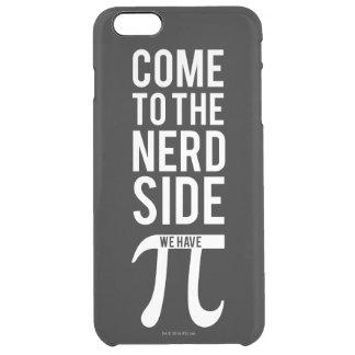 Vindo ao lado do nerd capa para iPhone 6 plus transparente