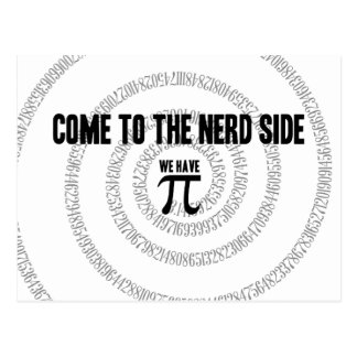 Vindo ao lado do nerd para o estilo da tipografia cartão postal