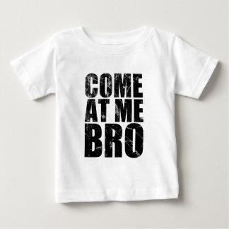 Vindo em mim Bro Camiseta Para Bebê