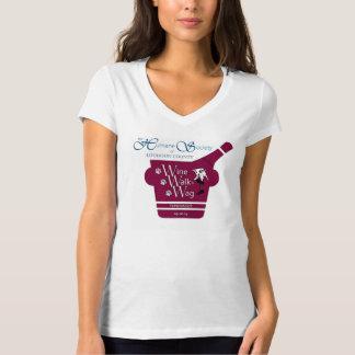 Vinho, caminhada e t-shirt voluntário do Wag