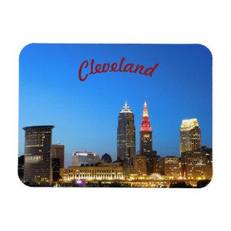 Vinho da skyline de Cleveland e ímã do ouro