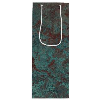 """Vinho """"de cobre"""" do saco do presente do impressão sacola para vinho"""