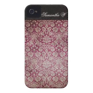 Vinho do damasco do vintage, capas de iphone capinhas iPhone 4