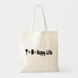 Vinho + Livro = o bolsa feliz da vida