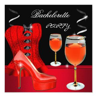 Vinho vermelho do preto do espartilho dos calçados