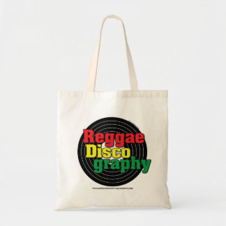 Vinil da discografia da reggae bolsa tote