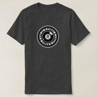 Vinil - registro de 45 RPM - preto & branco Camiseta