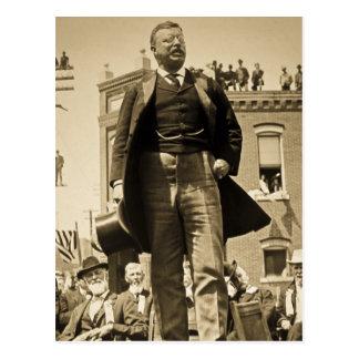 Vintage 1905 do cartão de Teddy Roosevelt