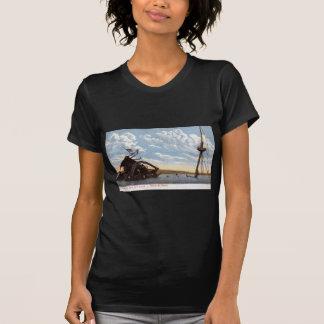 Vintage 1908 do Maine, Havana, Cuba Tshirt