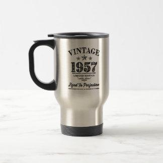 Vintage 1957 - 60th caneca de viagem do