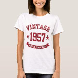 Vintage 1957 envelhecido à perfeição camiseta