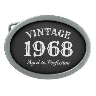 Vintage 1968 envelhecido aniversário da perfeição