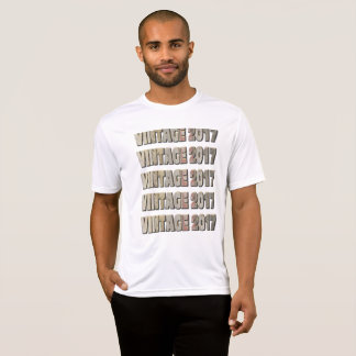 Vintage a 2017 camiseta