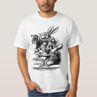 Vintage Alice no coelho branco do país das Camiseta